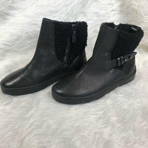 rag & bone Farling Leather & Shearling Flat Boots